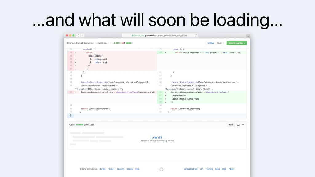 …and what will soon be loading…