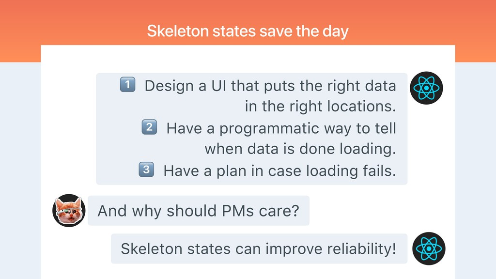 And why should PMs care? Skeleton states save t...