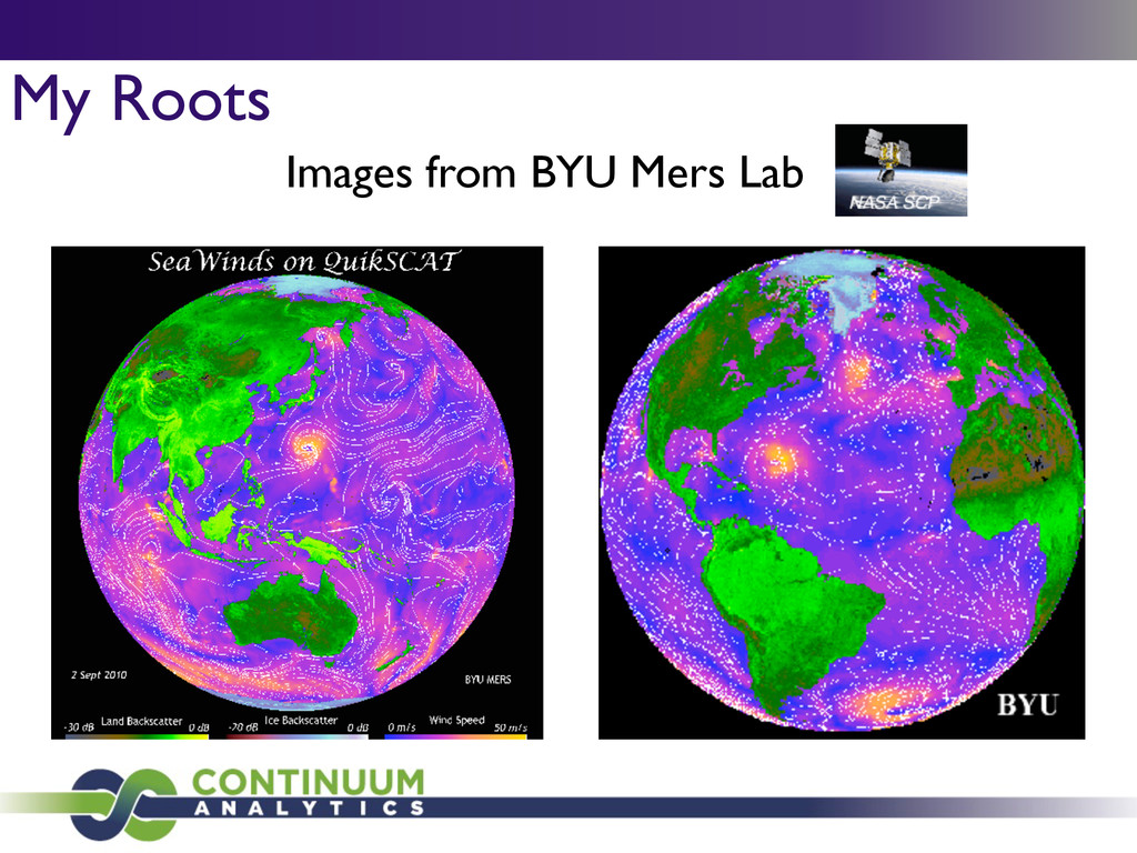My Roots Images from BYU Mers Lab