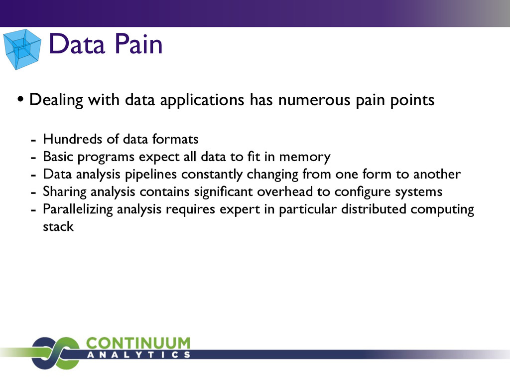 • Dealing with data applications has numerous p...