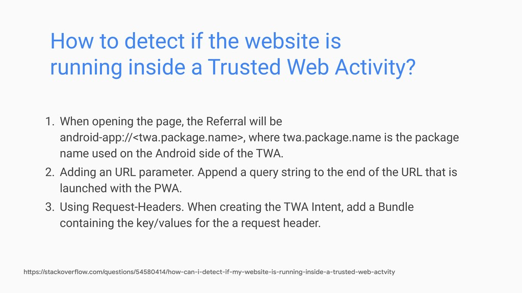 How to detect if the website is running inside ...