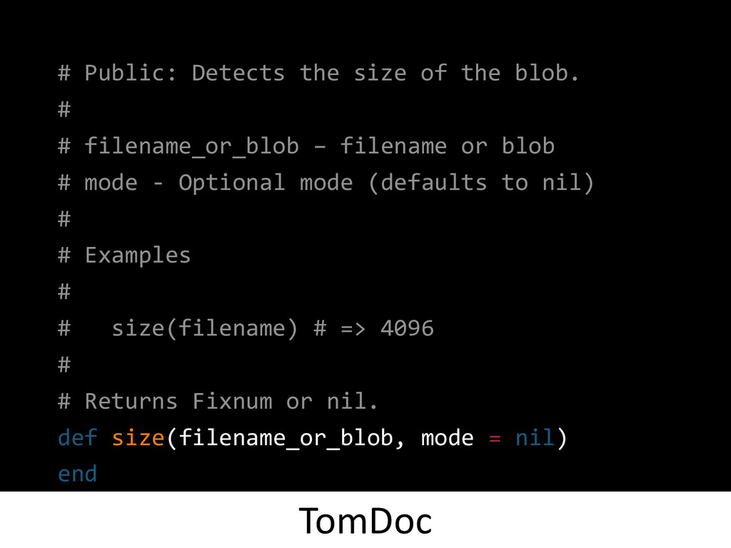 # Public: Detects the size of the blob. # # fil...