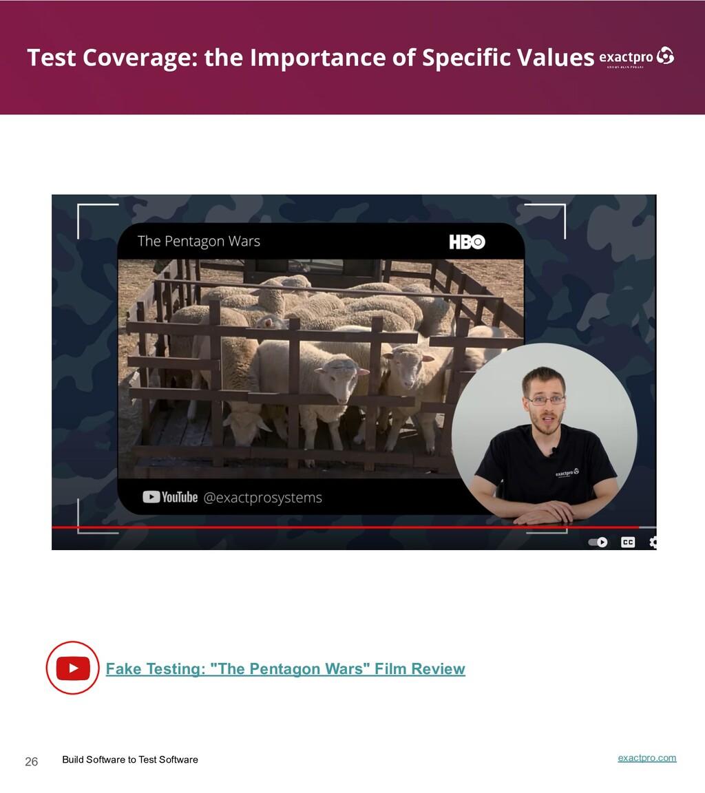 26 Build Software to Test Software exactpro.com...