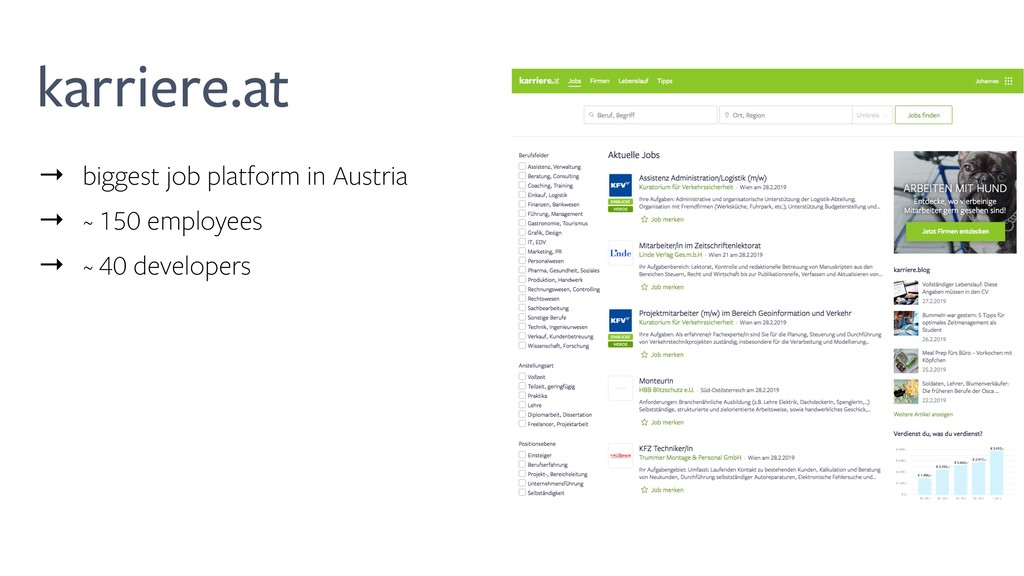 karriere.at → biggest job platform in Austria →...