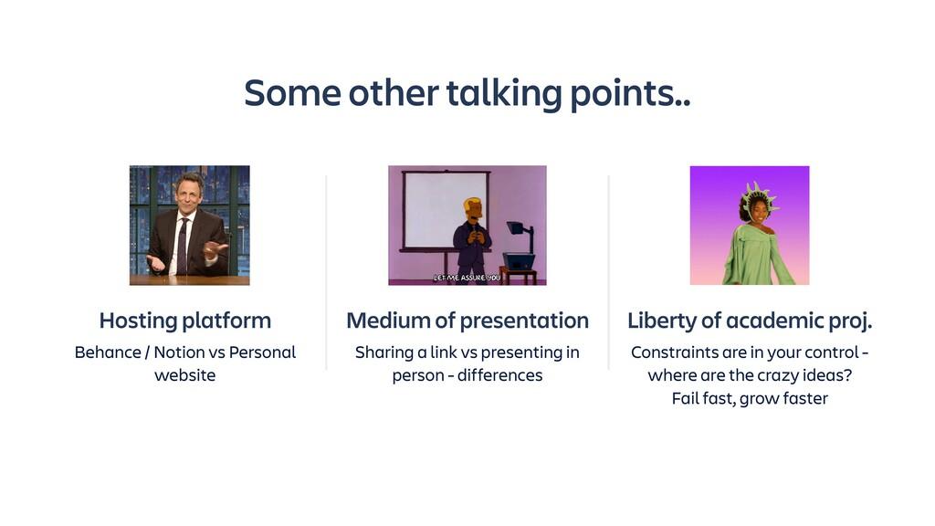 Medium of presentation Sharing a link vs presen...