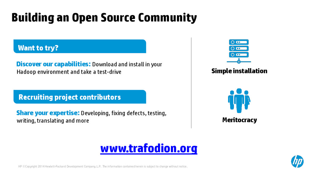 Building an Open Source Community Simple instal...