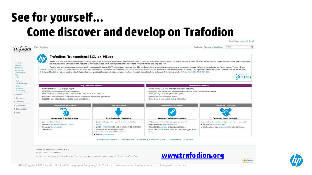 See for yourself… Come discover and develop on ...