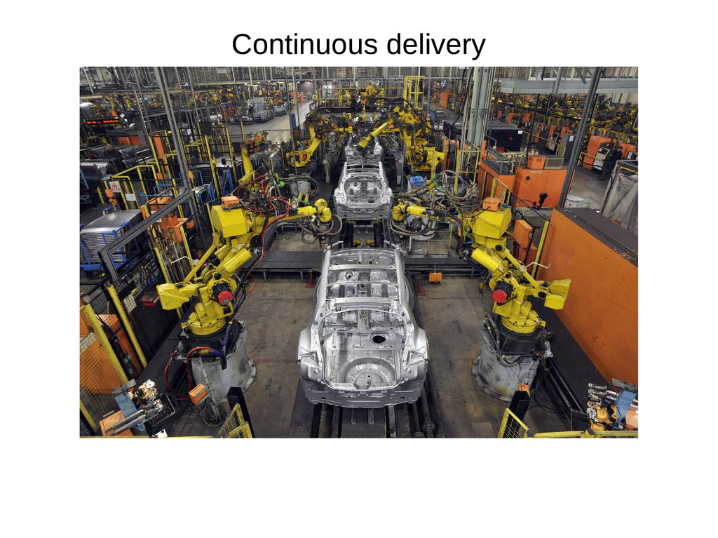 Continuous delivery Continuous delivery
