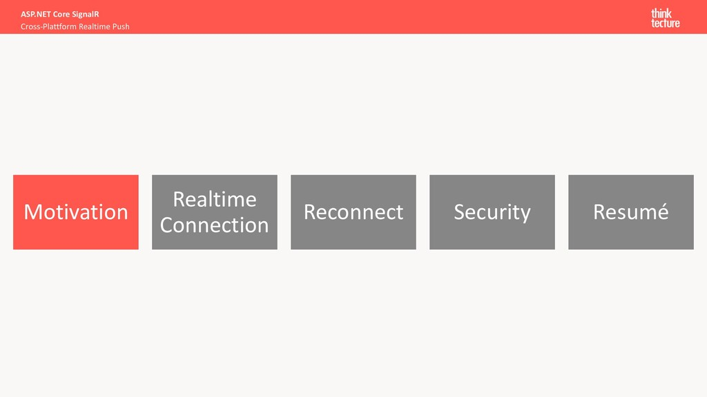 Motivation Realtime Connection Reconnect Securi...
