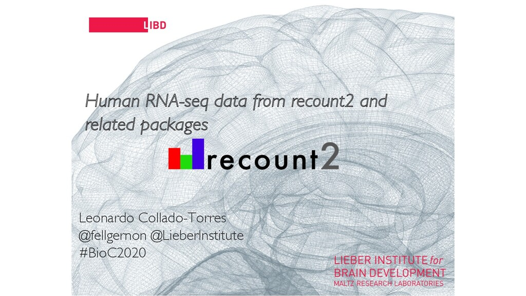 11 Human RNA-seq data from recount2 and related...