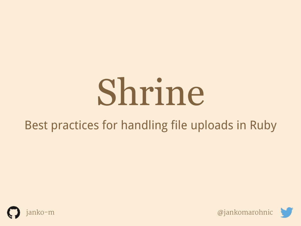 Shrine Best practices for handling file uploads...