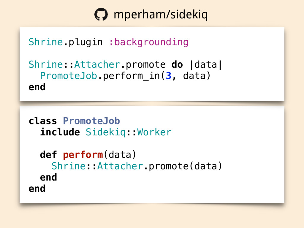 class PromoteJob include Sidekiq::Worker def pe...