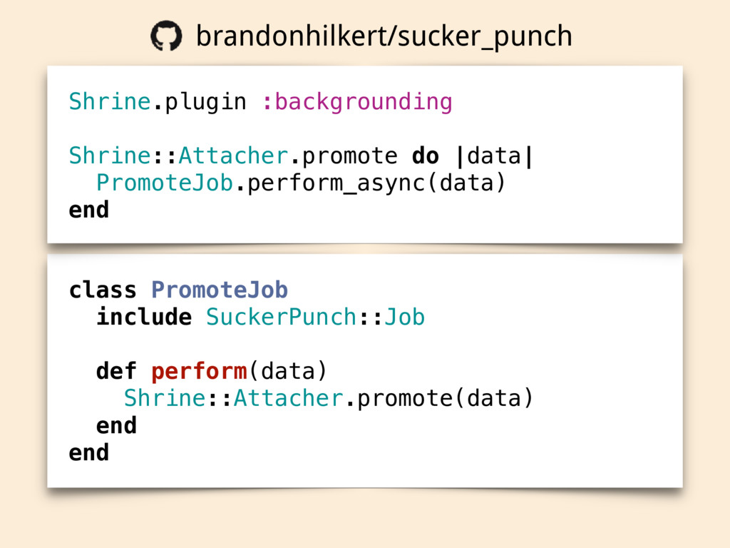 class PromoteJob include SuckerPunch::Job def p...