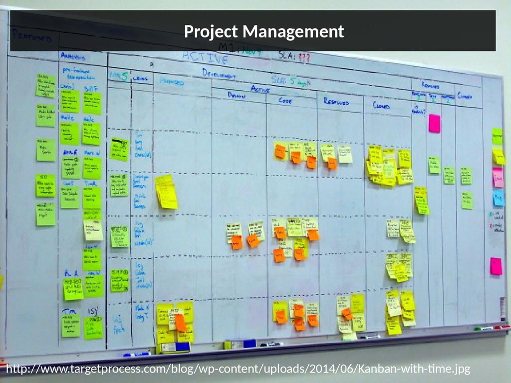 Project Management http://www.targetprocess.com...