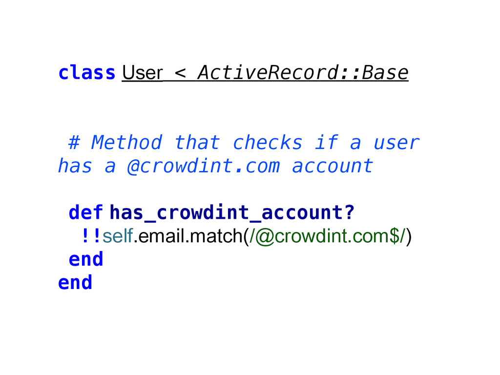 class User < ActiveRecord::Base # Method that c...