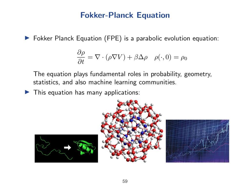 Fokker-Planck Equation I Fokker Planck Equation...