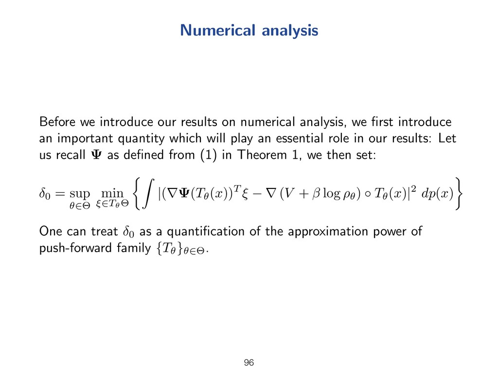 Numerical analysis Before we introduce our resu...