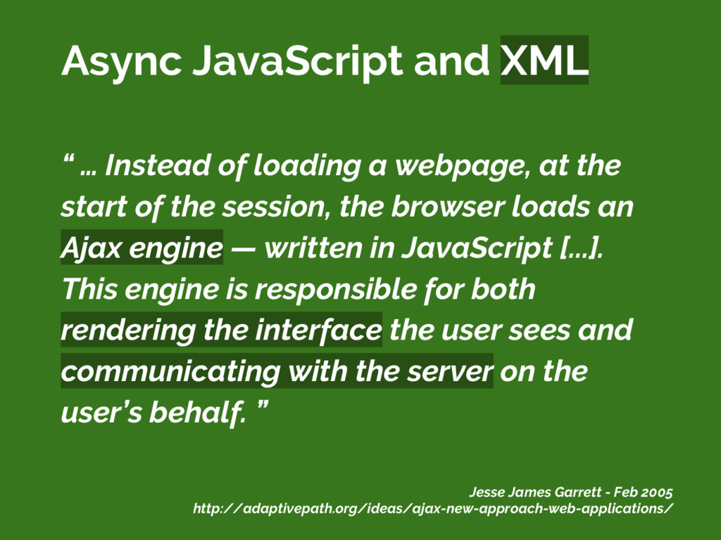 """ … Instead of loading a webpage, at the start ..."