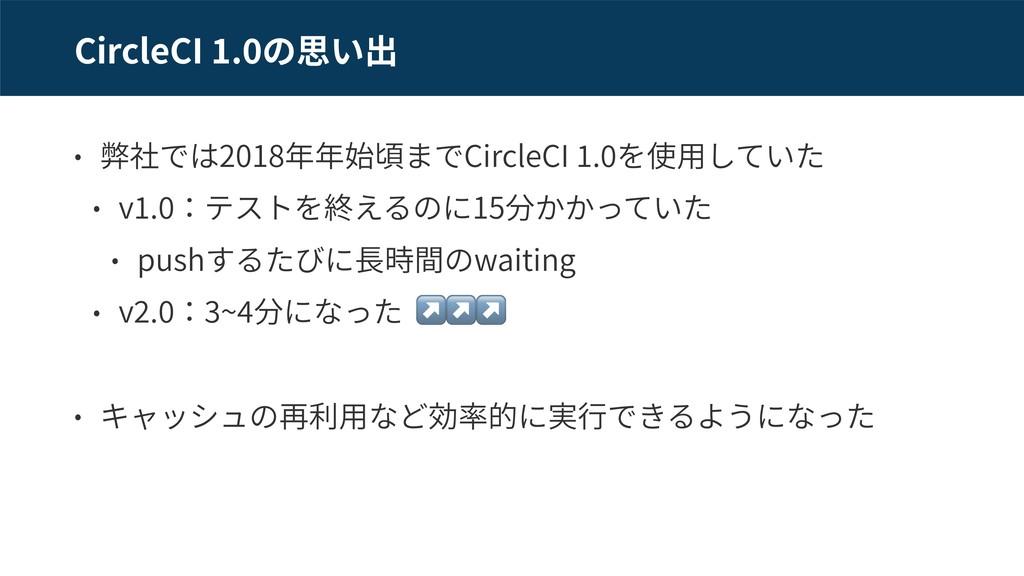 CircleCI . 2018 CircleCI . v . 15 push waiting ...