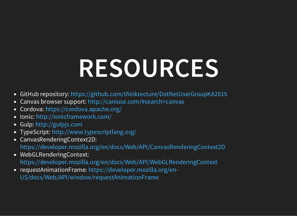RESOURCES GitHub repository: Canvas browser sup...