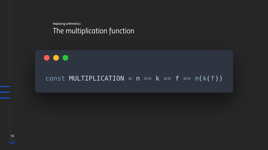 100 56 The multiplication function Replacing ar...