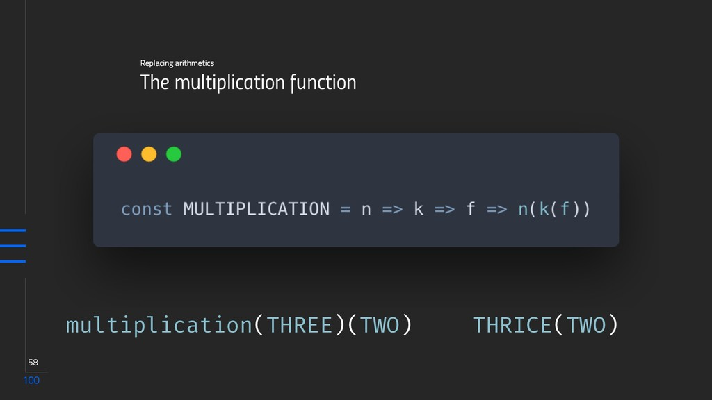 100 58 The multiplication function Replacing ar...