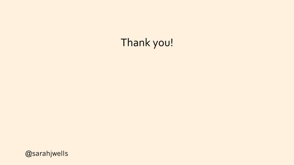 @sarahjwells Thank you!