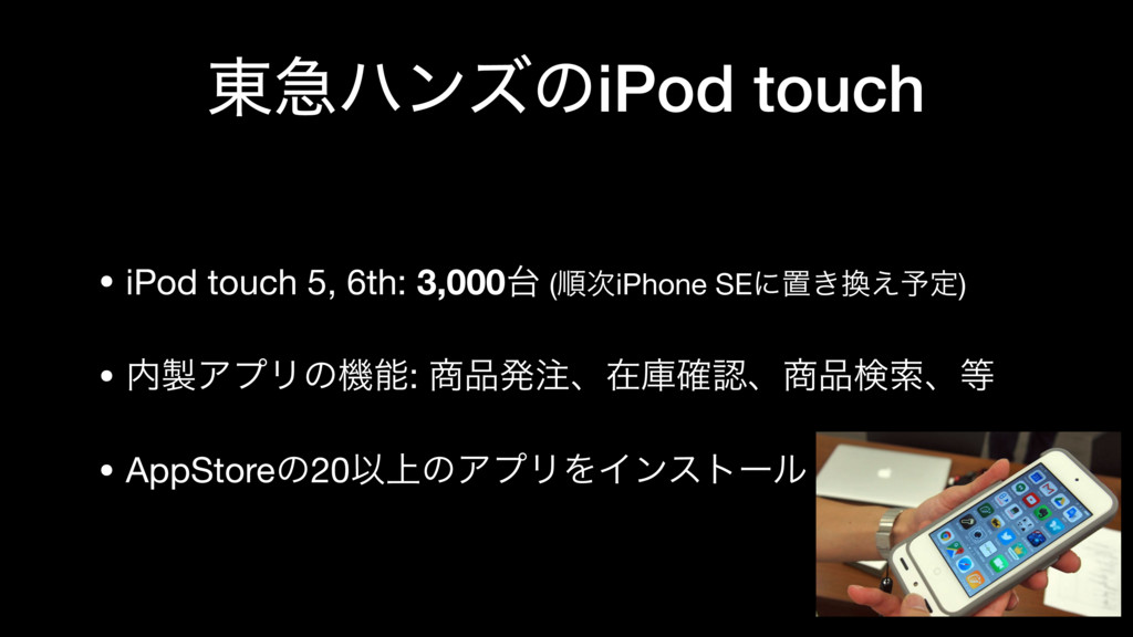 ౦ٸϋϯζͷiPod touch • iPod touch 5, 6th: 3,000୆ (ॱ...