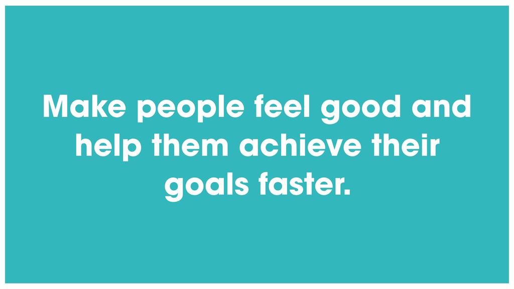 @radibit Make people feel good and help them ac...