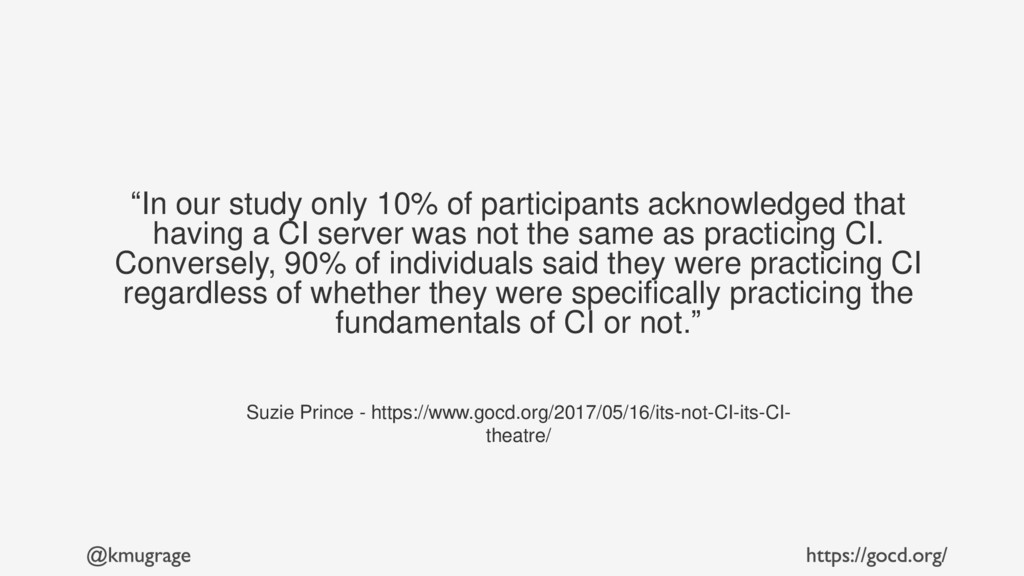 """""""In our study only 10% of participants acknowle..."""