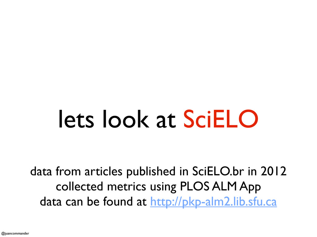 lets look at SciELO data from articles publishe...
