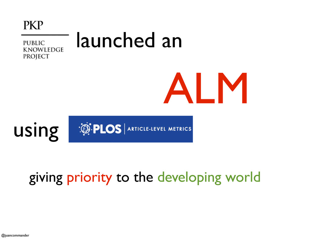 launched an ALM giving priority to the developi...