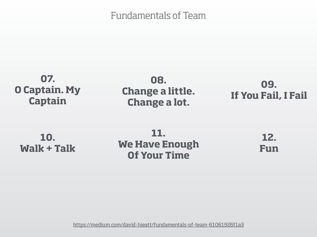 Fundamentals of Team https://medium.com/david-h...