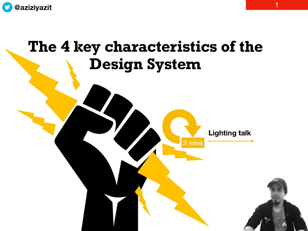 The 4 key characteristics of the Design System ...