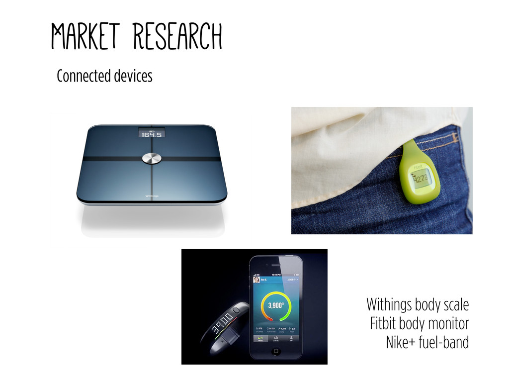 Market Research Connected devices Withings body...
