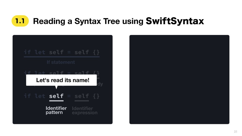 Reading a Syntax Tree using 4XJGU4ZOUBY  if ...