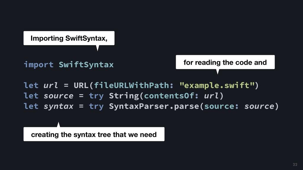 import SwiftSyntax let url = URL(fileURLWithPat...