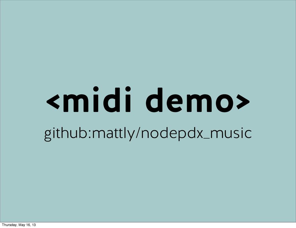<midi demo> github:mattly/nodepdx_music Thursda...