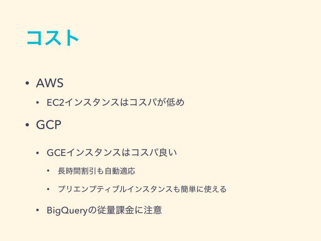ίετ • AWS • EC2Πϯελϯείεύ͕Ί • GCP • GCEΠϯελϯε...