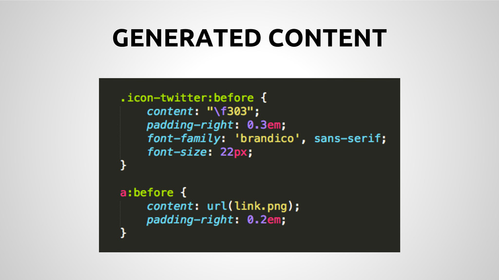 GENERATED CONTENT