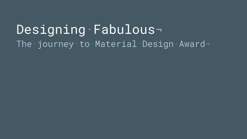 Designing·Fabulous¬ The·journey·to·Material·Des...