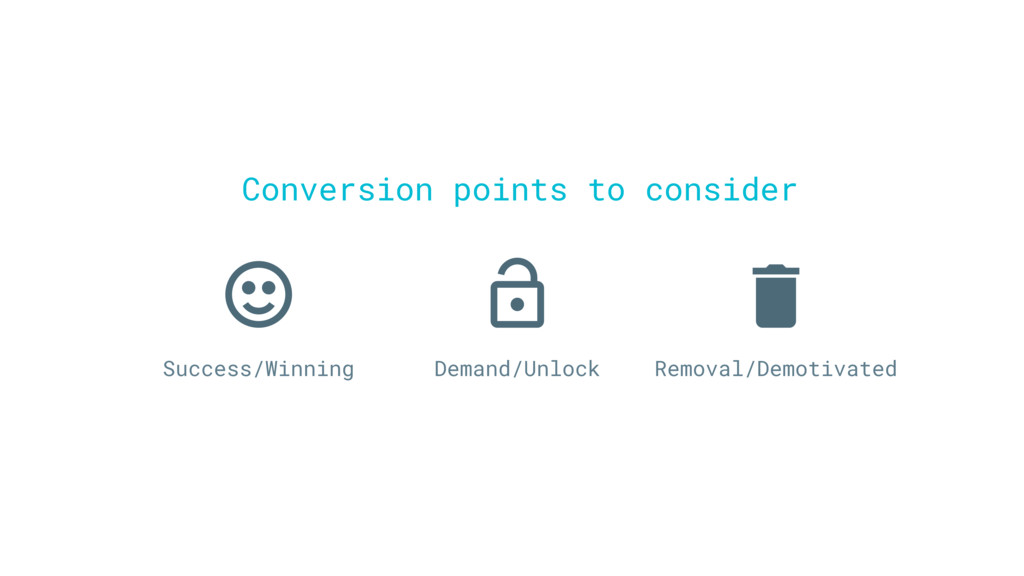 Success/Winning Demand/Unlock Removal/Demotivat...