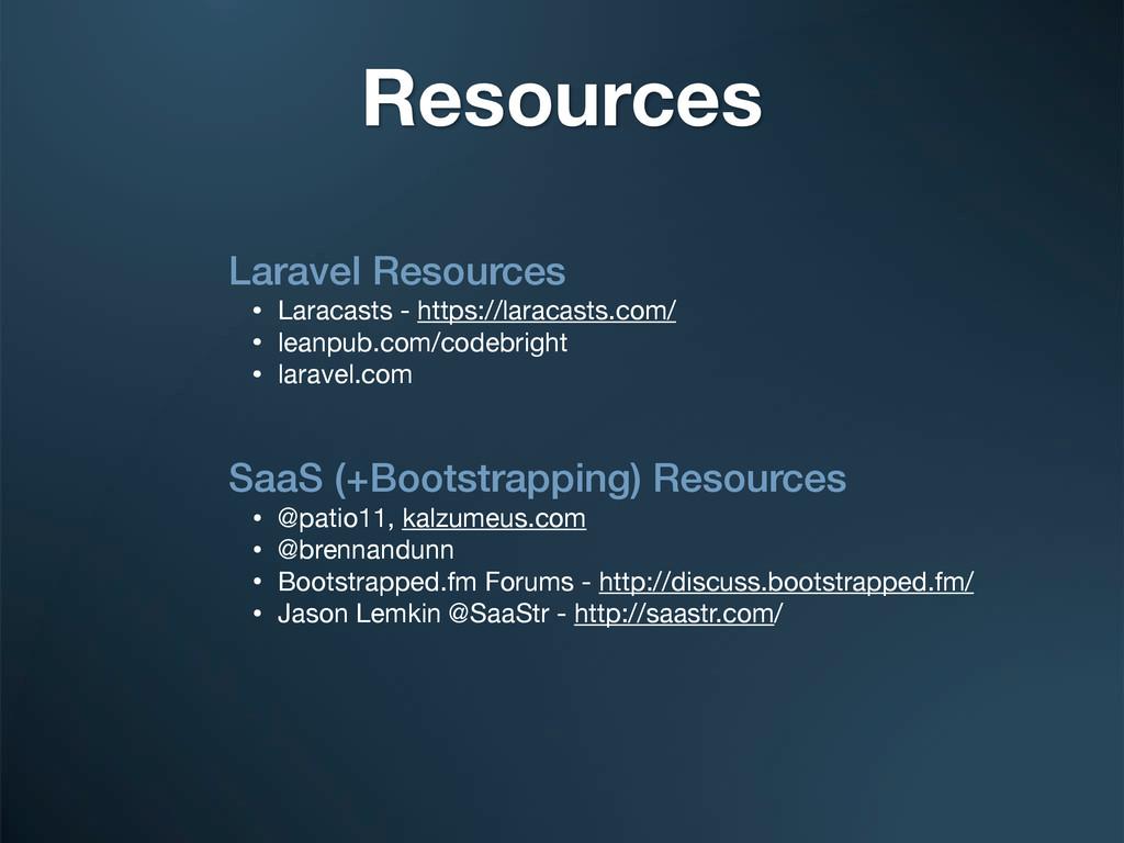 Laravel Resources • Laracasts - https://laracas...