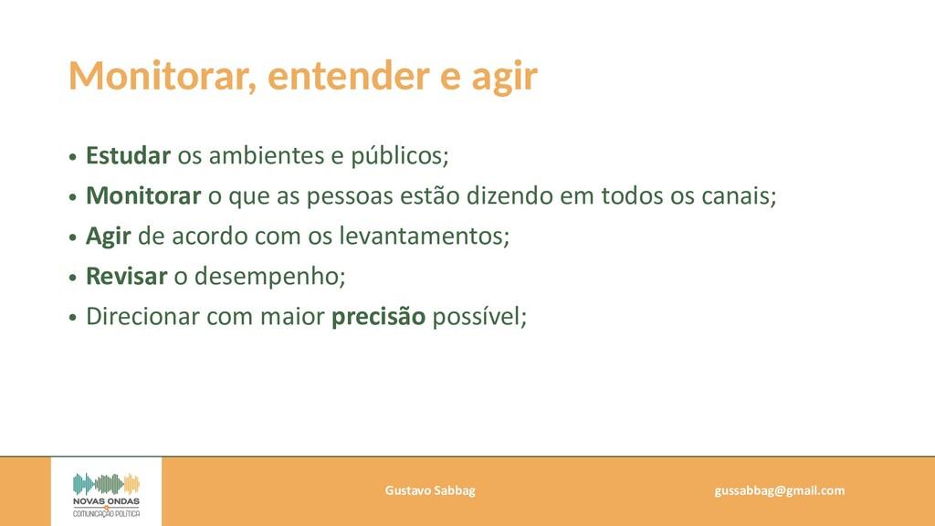 Gustavo Sabbag   gussabbag@gmail.com   Monitora...