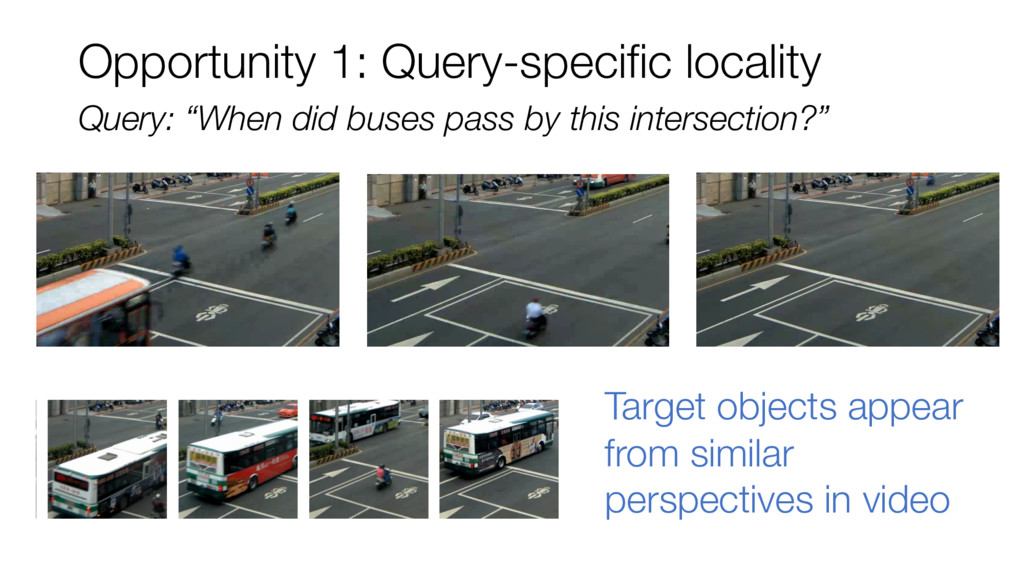 """Query: """"When did buses pass by this intersectio..."""
