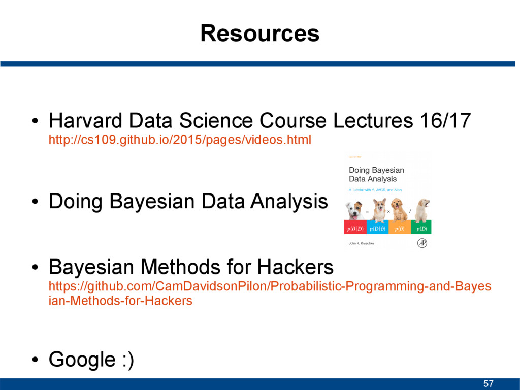 57 Resources ● Harvard Data Science Course Lect...