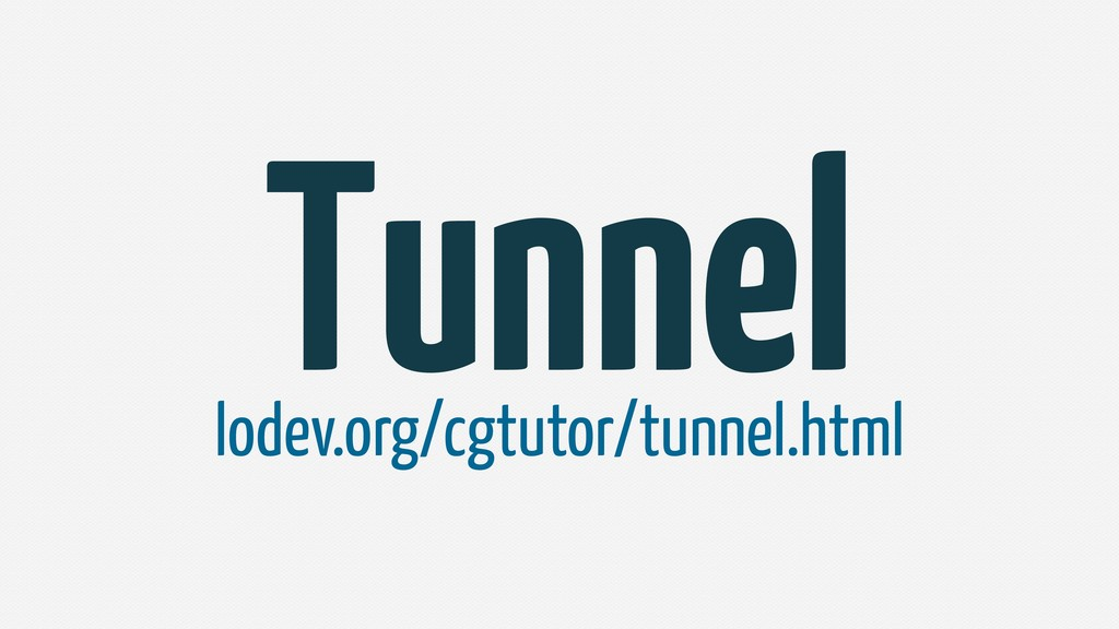 Tunnel lodev.org/cgtutor/tunnel.html