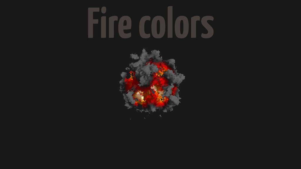 Fire colors