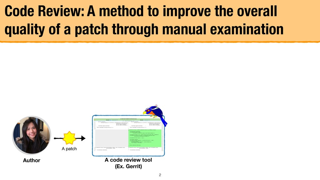 Author Code Review: A method to improve the ove...