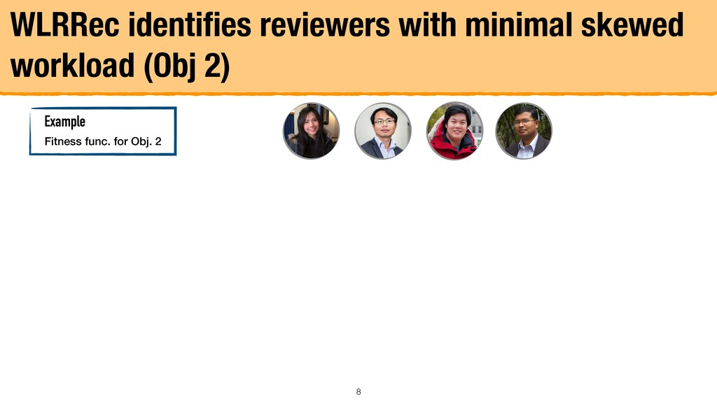 WLRRec identifies reviewers with minimal skewed ...